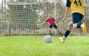 Female Soccer Goal, Thrive